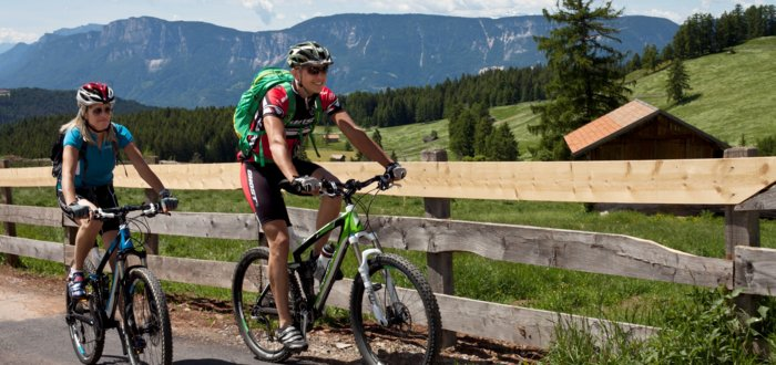 Cycling to Videgg, holiday in Schenna, South Tyrol