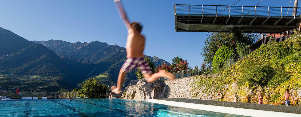 Sport and leisure time in the Hotel Schenna, Merano