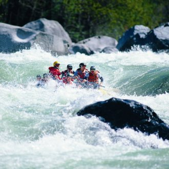 Rafting in Meran and environs. Holiday Hotel in Schenna