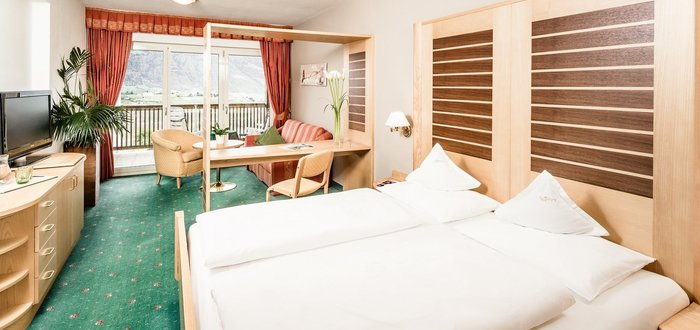 Single room Nord of the Hotel Tyrol in Schenna, Italy